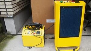 最大級のオゾン発声装置