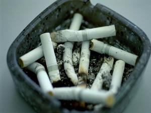 喫煙ルームの消臭