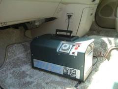 小型のオゾン発生機