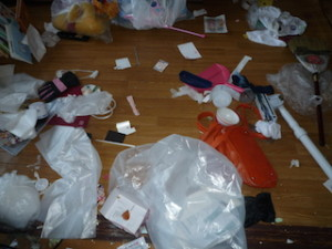 汚部屋のイメージ